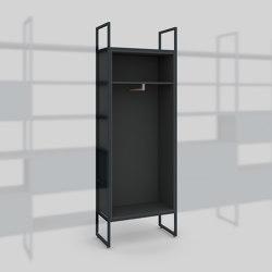 Module D – Wardrobe 400 | Estantería | Artis Space Systems GmbH