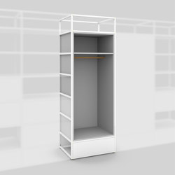 Module D – Wardrobe 650 | Shelving | Artis Space Systems GmbH