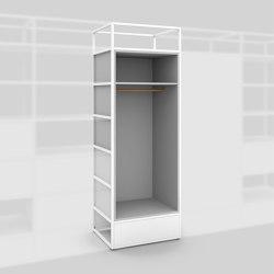 Modul D – Garderobe 650 | Regale | Artis Space Systems GmbH