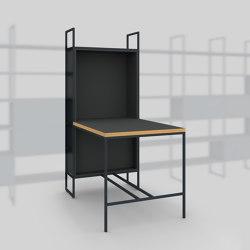 Module F – Small desk 400 | Estantería | Artis Space Systems GmbH