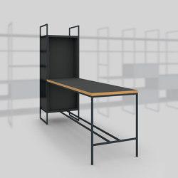 Module G – Large desk 650   Shelving   Artis Space Systems GmbH