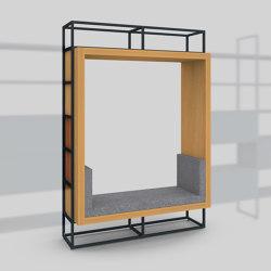 Module H – Seating recess 400 | Estantería | Artis Space Systems GmbH