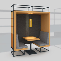 Module I – Alcove 650 | Office Pods | Artis Space Systems GmbH