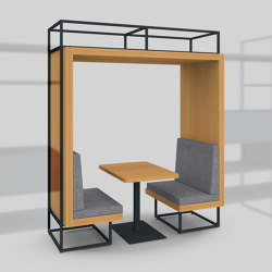 Module I – Alcove 650 | Tables and benches | Artis Space Systems GmbH