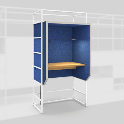 Module K – Silent workplace 650 | Telephone booths | Artis Space Systems GmbH