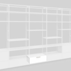 Plinth drawer 400 | Shelving | Artis Space Systems GmbH