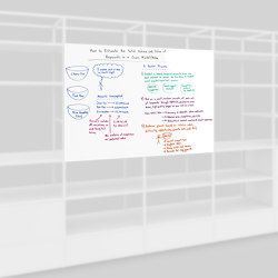 Small whiteboard | Shelving | Artis Space Systems GmbH
