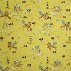 Scaramouche | Col.1 Summer Farandole | Drapery fabrics | Dedar