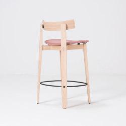 Nora   bar chair   Main Line Flax   Bar stools   Gazzda