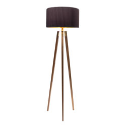 Tres floor lamp walnut | Free-standing lights | Strolz