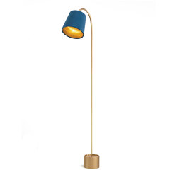 Pondus reading lamp brass | Free-standing lights | Strolz