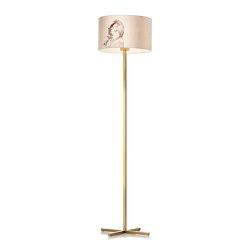 Bivius floor lamp brass | Free-standing lights | Strolz
