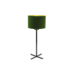 Bivius table lamp steel oilded | Lámparas de sobremesa | Strolz