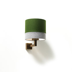 Bivius wall lamp brass | Wall lights | Strolz