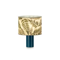 Botanica BR table lamp petrol | Lampade tavolo | Strolz