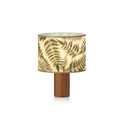 Botanica BR table lamp walnut | Lámparas de sobremesa | Strolz