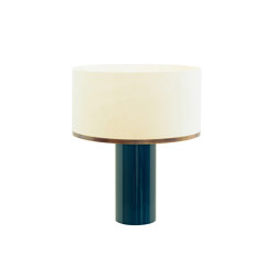 Brera table lamp petrol | Table lights | Strolz