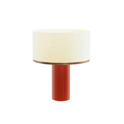 Brera table lamp red | Table lights | Strolz