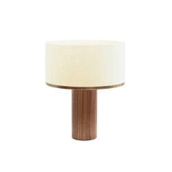 Brera table lamp walnut | Table lights | Strolz