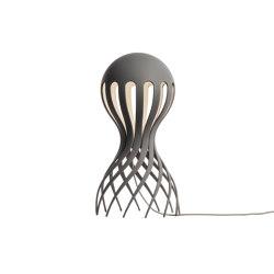 Cirrata Grey | Lámparas de sobremesa | Oblure
