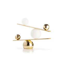 Balance Brass | Lampade tavolo | Oblure