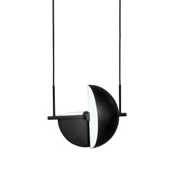 Trapeze Pendant Black | Suspended lights | Oblure