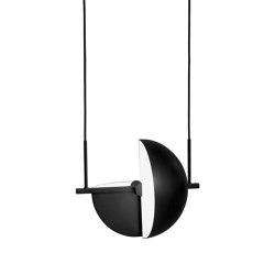 Trapeze Pendant Black | Lampade sospensione | Oblure