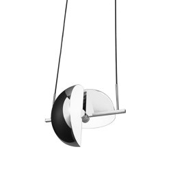 Trapeze Pendant Chrome | Suspended lights | Oblure