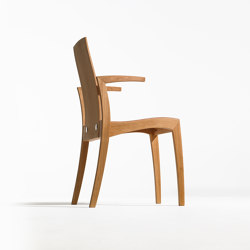 Rank chair with armrest | Sillas | Sixay Furniture