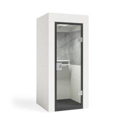 Mobile Unit |  white | Telephone booths | OFFICEBRICKS
