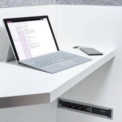 Phone Unit | Laptop Table | Shelving | OFFICEBRICKS