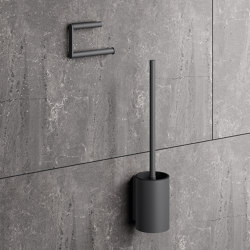 Toilet roll holder powder-coated | Portarotolo | HEWI