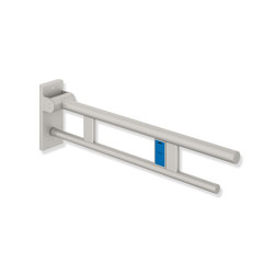 Hinged support rail Duo 700 mm  powder-coated |  | HEWI