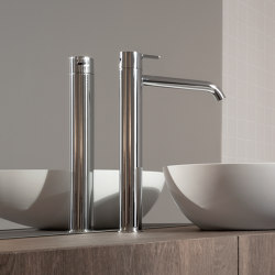 Code Chrome Top Mounted Basin Mixer   Wash basin taps   Inbani