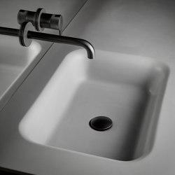 Float Tapa con lavabo integrado en Cementsolid | Lavabos | Inbani