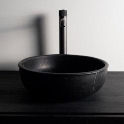 Prime Marble top mounted washbasin Ø35. | Wash basins | Inbani
