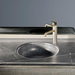 Prime Tapa con lavabo integrado en Mármol | Lavabos | Inbani
