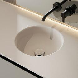 Prime Solidsurface top with integrated washbasin | Wash basins | Inbani