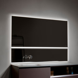 Strato Mirrors with Led Lighting | Bath mirrors | Inbani