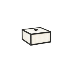 Frame 14 white stained ash | Storage boxes | by Lassen