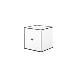 Frame 28 white | Storage boxes | by Lassen
