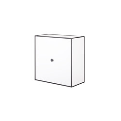 Frame 42 white | Storage boxes | by Lassen