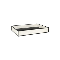 Frame Tray white stained ash | Bandejas | by Lassen
