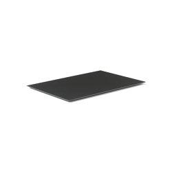 Kubus Base Extended black | Candlesticks / Candleholder | by Lassen
