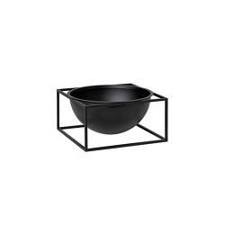 Kubus Bowl Centerpiece large black | Cuencos | by Lassen