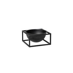 Kubus Bowl Centerpiece small black   Bowls   by Lassen