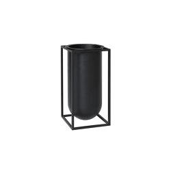 Kubus Vase Lily black | Vases | by Lassen