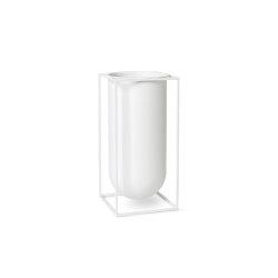Kubus Vase Lolo white | Vases | by Lassen