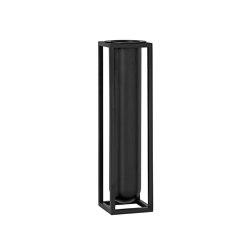 Kubus Vase Nolia black | Vases | by Lassen