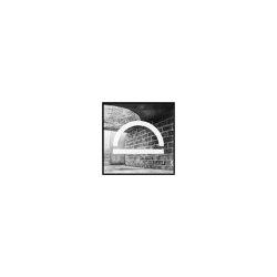 Silhouette - 29,7 x 29,7 cm | Wall art / Murals | by Lassen